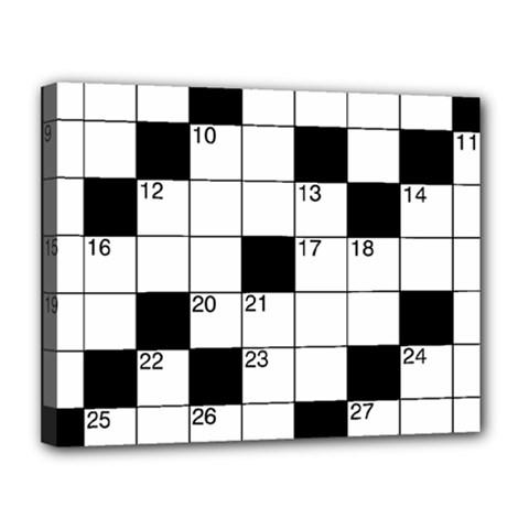 Crosswords  Canvas 14  x 11