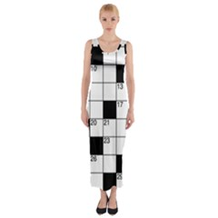 Crosswords  Fitted Maxi Dress