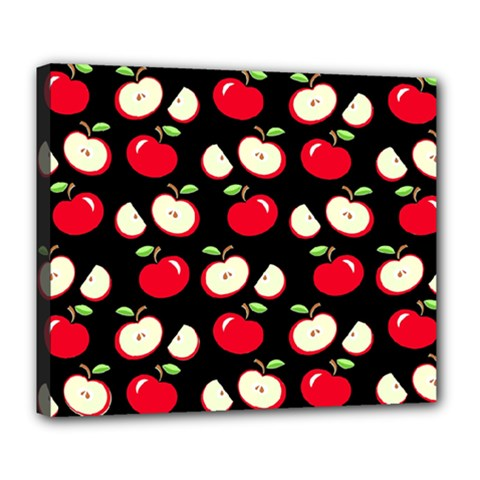Apple pattern Deluxe Canvas 24  x 20