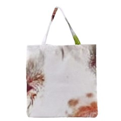 Spotted pattern Grocery Tote Bag