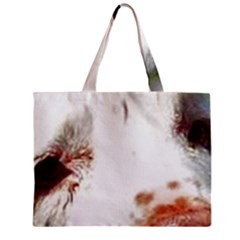Clumber Spaniel Eyes Zipper Mini Tote Bag