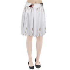 Spotted pattern Pleated Skirt