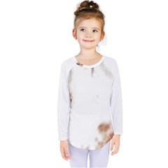 Spotted pattern Kids  Long Sleeve Tee