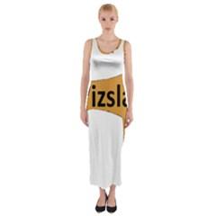 Vizsla Name Silo Color Fitted Maxi Dress
