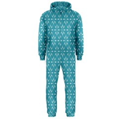 Pattern Hooded Jumpsuit (Men)