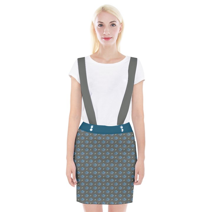 Seashore Braces Suspender Skirt