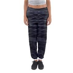 Dark Lake Ocean Pattern River Sea Women s Jogger Sweatpants