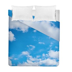 Sky Blue Clouds Nature Amazing Duvet Cover Double Side (full/ Double Size)