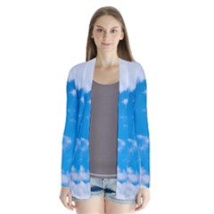 Sky Blue Clouds Nature Amazing Cardigans