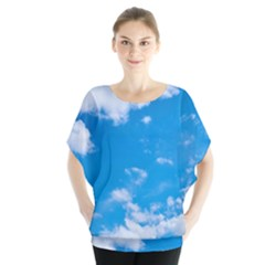 Sky Blue Clouds Nature Amazing Blouse