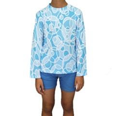 Pattern Kids  Long Sleeve Swimwear