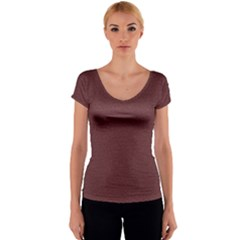 Seamless Texture Tileable Book Women s V-Neck Cap Sleeve Top
