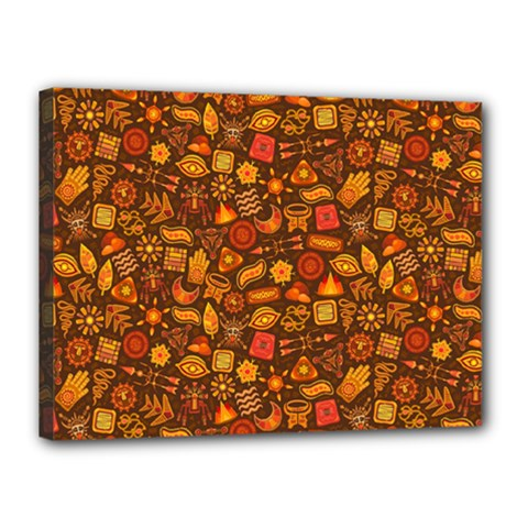 Pattern Background Ethnic Tribal Canvas 16  X 12