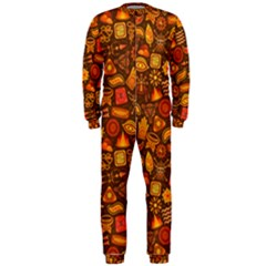 Pattern Background Ethnic Tribal OnePiece Jumpsuit (Men)