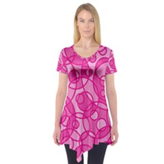 Pattern Short Sleeve Tunic