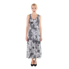 Camouflage Patterns  Sleeveless Maxi Dress