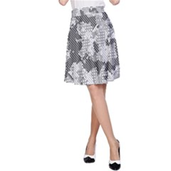 Camouflage Patterns  A-Line Skirt