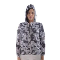 Camouflage Patterns  Hooded Wind Breaker (Women)
