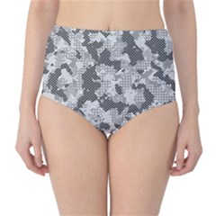 Camouflage Patterns  High-Waist Bikini Bottoms