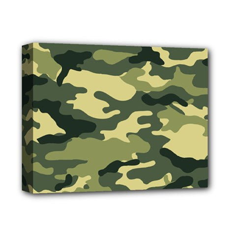 Camouflage Camo Pattern Deluxe Canvas 14  x 11