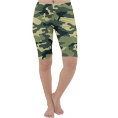 Camouflage Camo Pattern Cropped Leggings