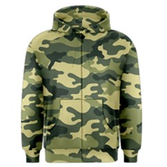 Camouflage Camo Pattern Men s Zipper Hoodie