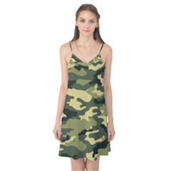 Camouflage Camo Pattern Camis Nightgown