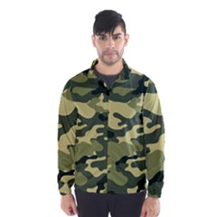 Camouflage Camo Pattern Wind Breaker (Men)