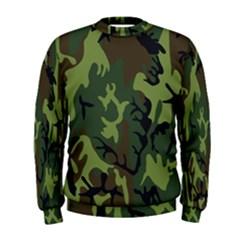 Military Camouflage Pattern Men s Sweatshirt