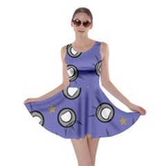 Rockets In The Blue Sky Surrounded Skater Dress