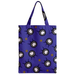 Rockets In The Blue Sky Surrounded Zipper Classic Tote Bag