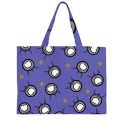 Rockets In The Blue Sky Surrounded Large Tote Bag