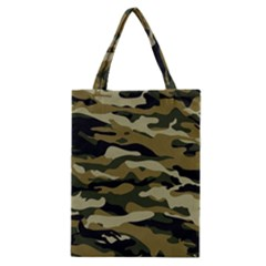 Military Vector Pattern Texture Classic Tote Bag