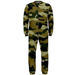 Military Vector Pattern Texture OnePiece Jumpsuit (Men)