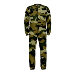 Military Vector Pattern Texture Onepiece Jumpsuit (kids)