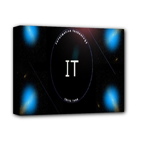 This Is An It Logo Deluxe Canvas 14  x 11