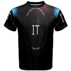 This Is An It Logo Men s Cotton Tee
