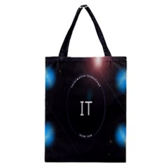 This Is An It Logo Classic Tote Bag
