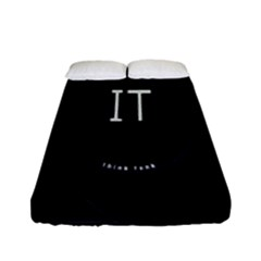 This Is An It Logo Fitted Sheet (full/ Double Size)