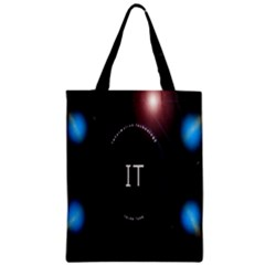 This Is An It Logo Zipper Classic Tote Bag