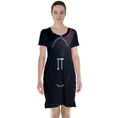 This Is An It Logo Short Sleeve Nightdress