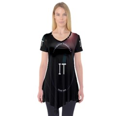 This Is An It Logo Short Sleeve Tunic