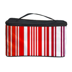Colorful Gradient Barcode Cosmetic Storage Case