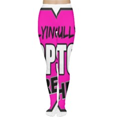 Bullying Stops Here Pink Sign Women s Tights