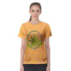 Cannabis Women s Sport Mesh Tee