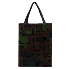 Circuit Board A Completely Seamless Background Design Classic Tote Bag