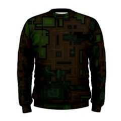 Circuit Board A Completely Seamless Background Design Men s Sweatshirt