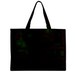 Circuit Board A Completely Seamless Background Design Zipper Mini Tote Bag