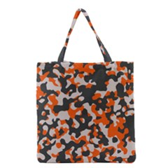 Camouflage Texture Patterns Grocery Tote Bag
