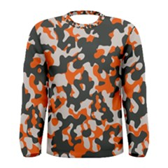 Camouflage Texture Patterns Men s Long Sleeve Tee